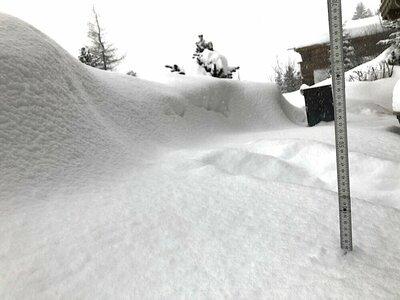 Positieve kanten van de grote hoeveelheid sneeuw