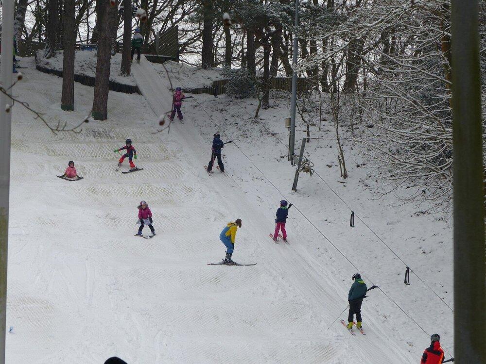 Natuurlijk skiën in Nederland