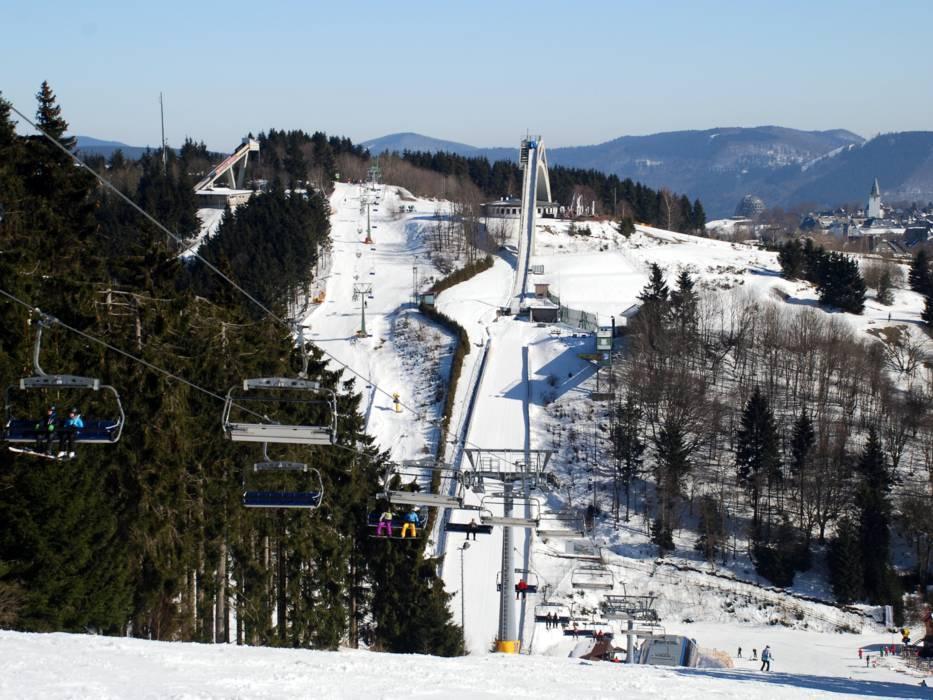 Winterberg opent ski-liften