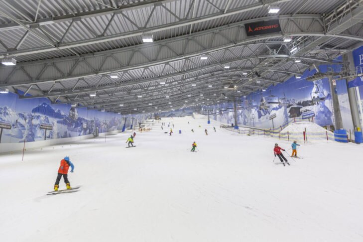 Indoor ski-hallen: sneeuw- en wintersport pret in alle soorten en maten