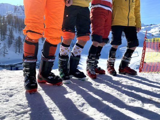 Goede skikousen: absolute voorwaarde voor optimaal voetenwerk op de ski's