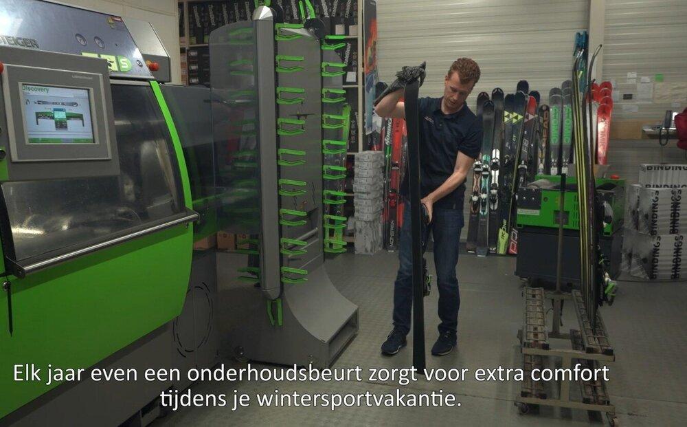 De onderhoudsbeurt is net zo belangrijk voor je ski's als voor je auto